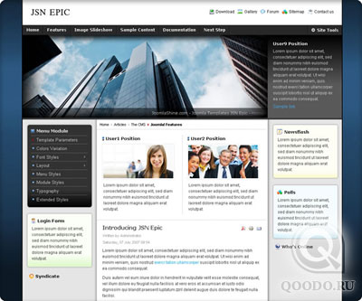 JoomlaShine Epic