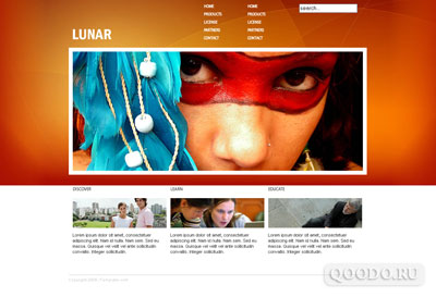 iTemplater i-Lunar - Шаблон для Joomla 1.5